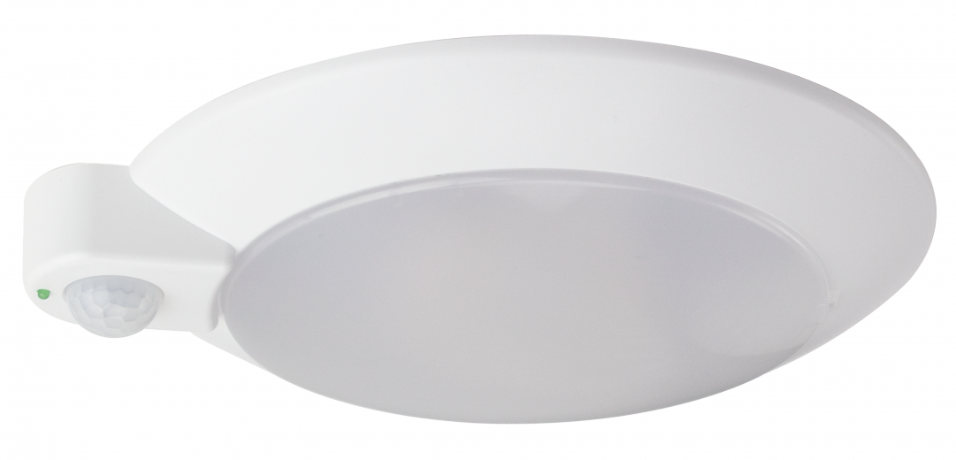 Tapered Disc Luminaire With Occupancy Sensor