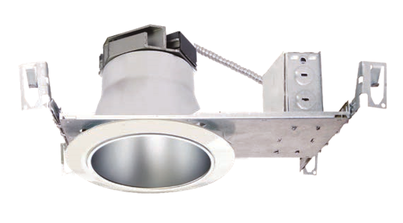 "4"" LED Commercial Non-IC Flat Frame-In Kit"