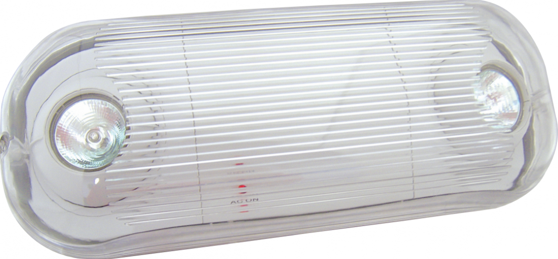 MR-16 Wet Location Semi-Recessed Polycarbonate Emergency Unit