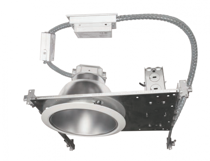 "8"" LED Commercial Non-IC Flat Frame-In Kit"