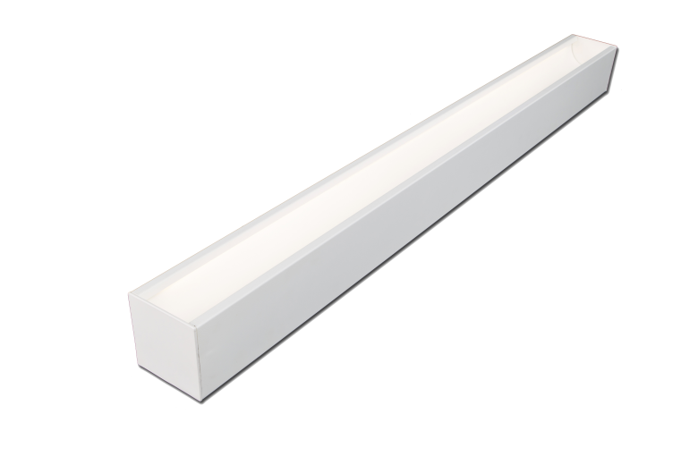 Recessed Flangeless LED Indirect Radiant Linear Fixture
